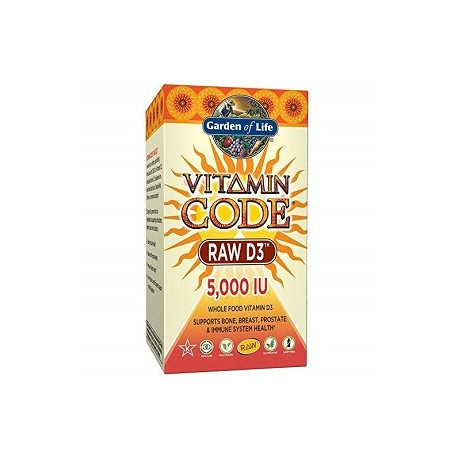 VITAMIN CODE RAW D3 60 CAPS