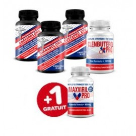 PACK MAX MUSCULATURA Y POTENCIA SEXUAL 5 PRODUCTOS X 90 CAPS