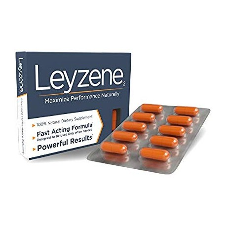 Leyzene₂ w-Royal Jelly. The New Most Effective Natural Amplifier for Strength Energy and Endurance- Doctor Certified