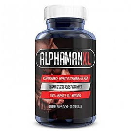 AlphaMAN XL Male Pills | - Enlargement Booster Increases Energy Mood - Endurance | Best Performance Supplement for Men - 1