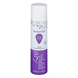 Summers Eve Refrescante spray | Extra Strength | 2 oz Tamaño | Pack de 6 | pH equilibrado dermatólogo y ginecólogo Probado