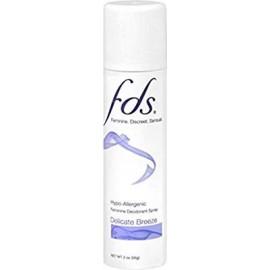 FDS Femenino desodorante en aerosol delicado Breeze 2 oz (Pack de 4)
