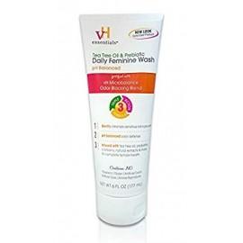 esenciales vH íntima femenina Lavado - pH equilibrado con aceite de árbol de té arándano prebióticos lavanda Chamomile- 6 f
