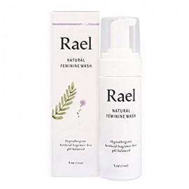Rael Natural Femenino Cleansing Wash - Piel Sensible - ligero y fresco aroma 5 oz (paquete de 1)