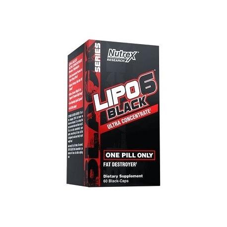LIPO 6 BLACK 60 CAPS