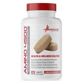 AMINO 4500 BY METABOLIC NUTRITION 90 TABLETAS