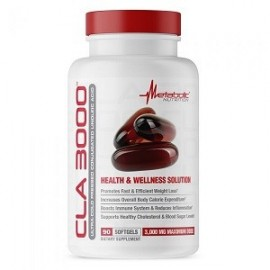 CLA 3000 BY METABOLIC NUTRITION 90 CAPS