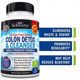 COLON DETOX CLEANSER 45 CAPS