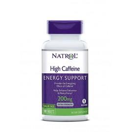NATROL HIGH CAFFEINE 200 MG 100 TABLETAS