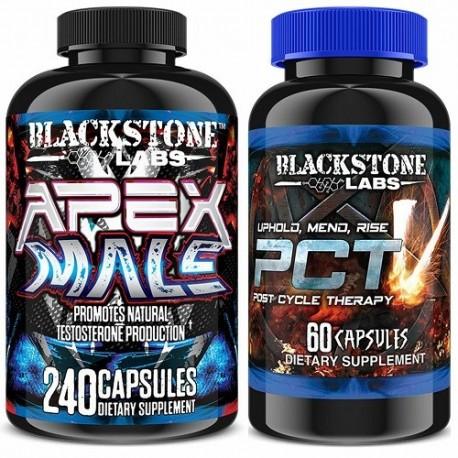 BLACKSTONE LABS ULTIMATE PCT V PLUS APEX MALE 2 PRODUCTOS
