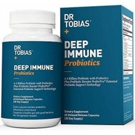 DR TOBIAS DEEP IMMUNE PROBIOTIC 60 CAPSULAS