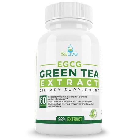 Green Tea EGCG Belly Fat Burner Weight Loss
