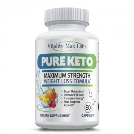 Pure Keto - Ketogenic Fat Burner For Weight Loss