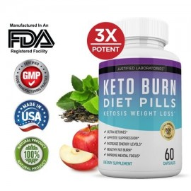 Keto Diet Pills Burn Shred BHB Salts Advanced Ketogenic Supplement Exogenous Ketones Ketosis Weight Loss Fat Burner Fast Carb
