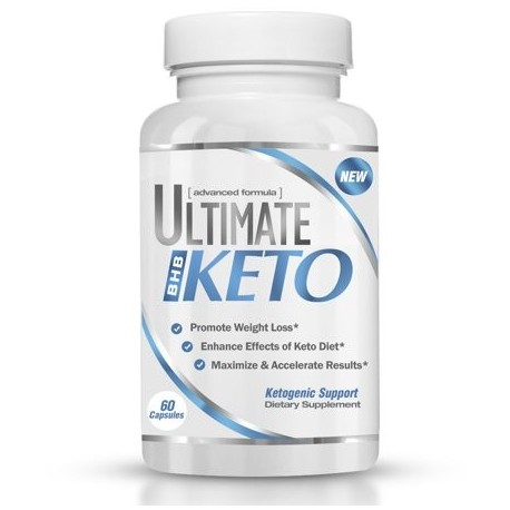 Ultimate Keto - BHB Exogenous Ketones Supplement - Weight Loss and Keto Diet Support - Enter Fast Ketosis - Burn Fat
