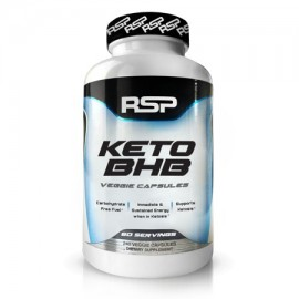RSP Nutrition Keto BHB Exogenous Ketones for Ketogenic Diet Energy Boost Focus Vegan Friendly 240 Ct