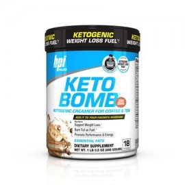 BPI Sports Health Keto Bomb Ketogenic Caramel Macchiato 18 Servings