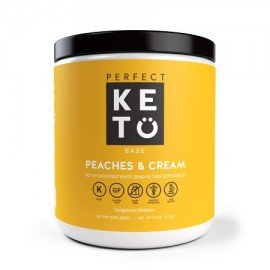 PerfeCt Keto Peaches - Cream Exogenous Ketones Dietary Supplement 7.5 Oz