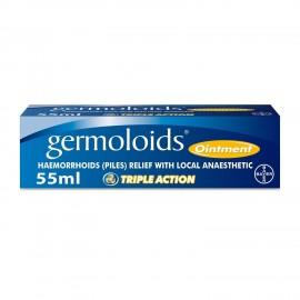 Germoloids Tratamiento de las hemorroides y ungüento 55 ml