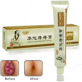 Chinese Herbal For Treatment Hemorrhoids Cream Anus Prolapse Anal Fissure Antibacterial Cream By Balai (2 Pcs Pack) (1 Pcs