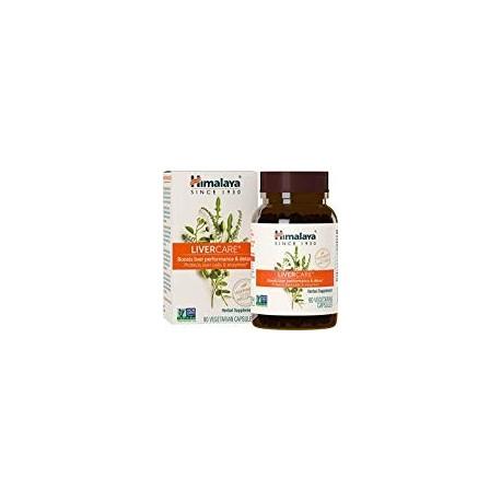 Himalaya LiverCare Tabletas Detox para higado 375 mg 90 Caps
