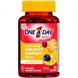 One-A-Day VitaCraves Immunity Support Multivitamin Gummies 70 ea