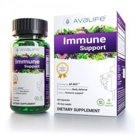 Avalife Immune Support Supplements - Daily Immunity Booster - Wellness Formula for Men - Women - Gluten Free Vegan - Non-GMO