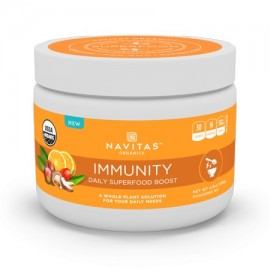 Navitas Organics Daily Immunity Superfood Powder 4.2 Oz 15 Servings
