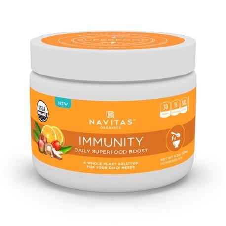 Navitas Organics Daily Immunity Superfood Powder 4.2 Oz 15 Servings