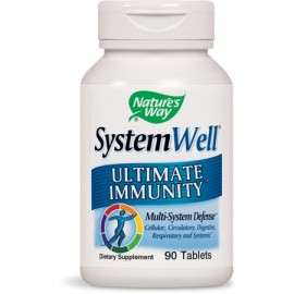 Natures Way SystemWell Ultimate Immunity Multi-System Defense 90 Ct