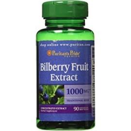 Extracto de arandano Puritans Pride 41 1000 mg90 capsulas de gelatina