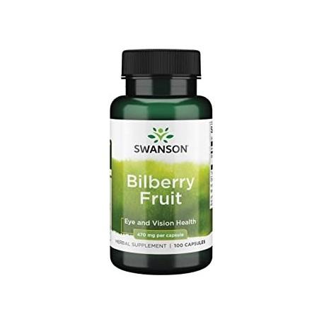 Fruta de arandano Swanson 470 miligramos 100 capsulas