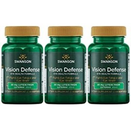 Swanson Vision Defense Antioxidante Vision Health Supplement Luteina Zeaxantina Astaxantina Extracto de brocoli Extracto de aran
