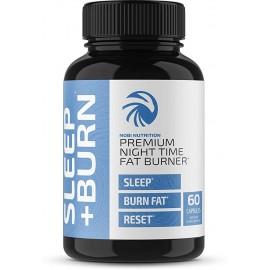 Nobi Nutrition Quemadoras de grasa de noche que ayuda a dormir 60 capsulas
