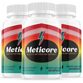 Meticore Weight Management Pills 30 Capsulas x 3 Pack