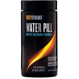 BODYDYNAMIX WATER PILL 120 CAPSULAS