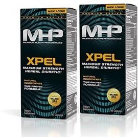 MHP XPEL CAPSULAS DIURETICAS DE MAXIMA POTENCIA 80 UNIDADES PAQUETE DE 2