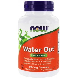 NOW FOODS WATER OUT 100 CAPSULAS VEGETALES