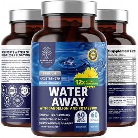 N1N PREMIUM WATER AWAY PILLS 60 CAPSULAS