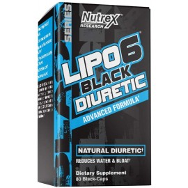 NUTREX RESEARCH LIPO6 DIURETIC 80 COUNT
