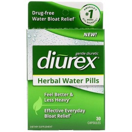 DIUREX HERBAL WATER PILLS 30 CAPSULAS