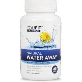YOUFIT NUTRITION NATURAL WATER AWAY DIURETIC 60 CAPSULAS