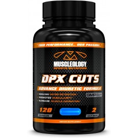 MUSCLEOLOGY DPXCUTS DIURETIC CMP 120 CAPSULAS