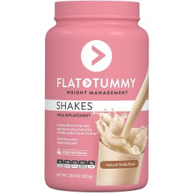 FLAT TUMMY TEA MEAL REPLACEMENT PLANT BASED PROTEIN POWDER 20 PORCIONES