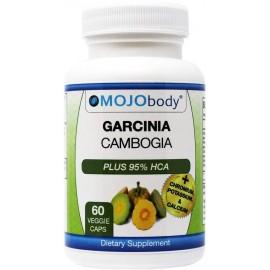 MOJOBODY GARCINIA CAMBOGIA PLUS 95 HCA and CHROMIUM 60 CAPSULAS VEGETALES