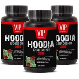 SUPER HOODIA GORDONII POWER EXTRACTO PURO DE HOODIA GORDONII 2000MG 3 FRASCOS 180 CAPSULAS