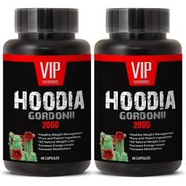 SUPER HOODIA GORDONII POWER EXTRACT EXTRACTO PURO DE HOODIA GORDONII 2000MG 2 FRASCOS 120 CAPSULAS