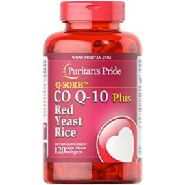 QSORB COQ10 PLUS RED YEAST RICE 120 CAPS