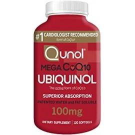 QUNOL MEGA UBIQUINOL COQ10 120 CUENTA