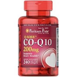 COQ10 200MG APOYA LA SALUD DEL CORAZON 240 CAPS